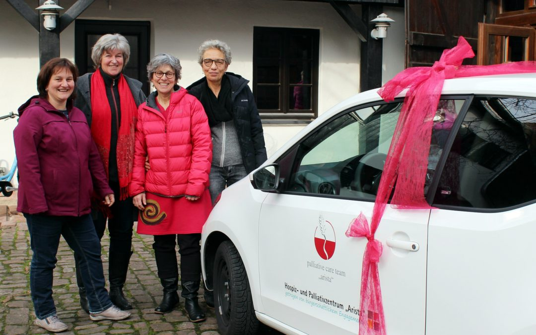"Ein VW UP für das Palliative Care Team ""Arista"""